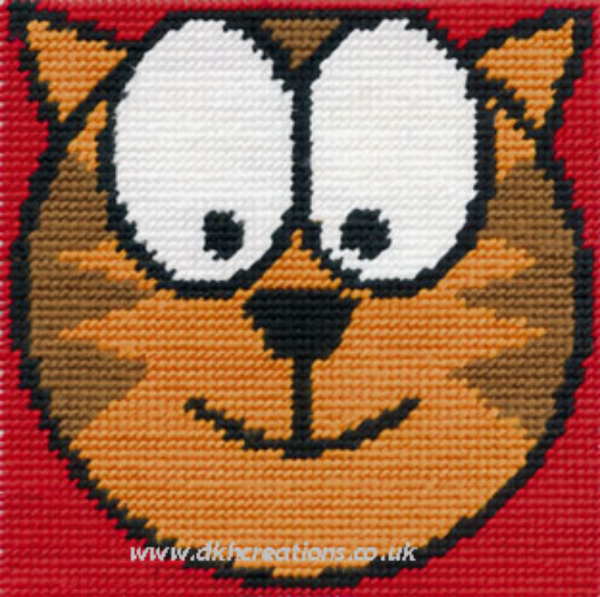 Cool Cat Tapestry Kit